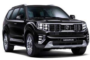 KIA công bố ảnh SUV cỡ lớn Mohave 2020