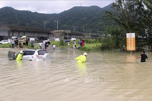 Điện thăm hỏi về việc cơn bão Lekima gây tổn thất lớn tại khu vực phía Đông Trung Quốc