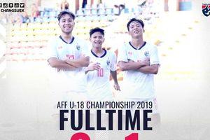 Thua Thái Lan, U18 Malaysia vẫn nắm tay U18 Australia vào vòng trong