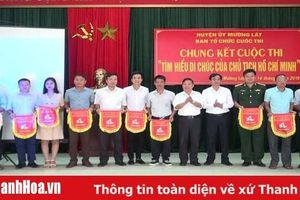 Mường Lát tổ chức chung kết cuộc thi 'Học tập Di chúc của Chủ tịch Hồ Chí Minh'
