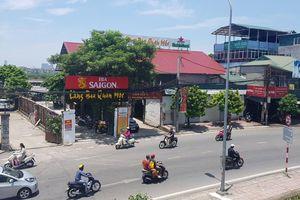 Hà Nội: Nhà hàng đe dọa hành lang thoát lũ sông Hồng có dấu hiệu sử dụng đất sai mục đích