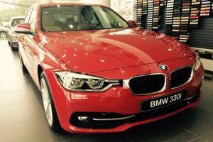 Triệu hồi BMW 3 Series tại Việt Nam để khắc phục lỗi