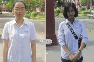 Nghị lực vượt lên số phận của 2 nữ sinh nghèo