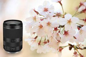 Canon ra mắt ống kính du lịch RF24-240mm f/4-6.3 IS USM giá 25 triệu