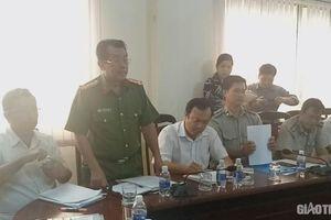Khởi tố nhóm người dùng hung khí chống đối đoàn cưỡng chế ở Cà Mau