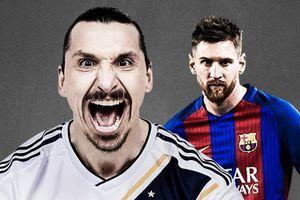 Ibrahimovic, Messi vào top 10 ứng viên ghi bàn đẹp nhất năm
