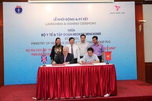 96 bệnh viện của 10 tỉnh thành được tài trợ đèn chiếu trị bệnh vàng da cho trẻ sơ sinh