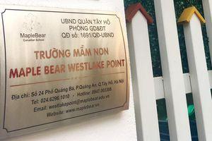 Maple Bear Westlake Point được tuyển sinh là do lỗi đánh máy