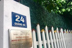 Giáo viên nhốt trẻ vào tủ: Lời thừa nhận sốc của Maple Bear Việt Nam