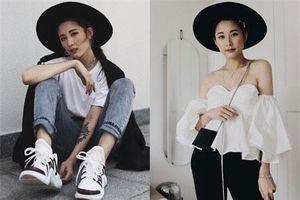 Vẻ đẹp cá tính của fashionista 'hot' nhất nhì Việt Nam
