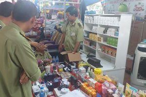 Nhiều hàng hóa tại Hội chợ triển lãm ở Bạc Liêu bị tạm giữ