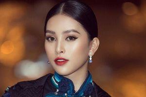 Tiểu Vy 'chơi trội', diện đầm lấy ý tưởng từ trang phục dân tộc Hà Nhì