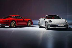 Porsche 911 Carrera thế hệ thứ 8 ra mắt với 2 phiên bản tùy chọn