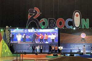 Việt Nam giành giải cao cuộc thi Sáng tạo robot châu Á - Thái Bình Dương 2019