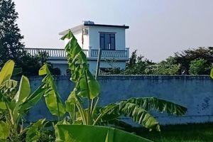 Xây nhà trái phép trên đất nông nghiệp nhưng không bị xử lý