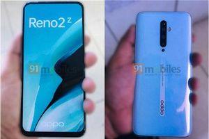 Oppo Reno 2Z bất ngờ lộ ảnh thực tế với màn hình tràn viền