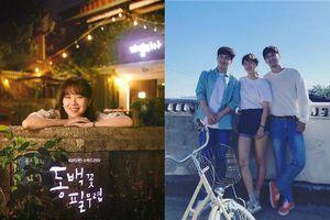 'When Camellia Blooms' phát hành poster đầu tiên - Gong Hyo Jin, Kang Ha Neul và Kim Ji Suk cực đáng yêu trên phim trường