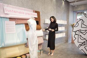 Thảo Nhi Lê, Thanh Trúc Trương ủng hộ sự kiện thời trang bền vững