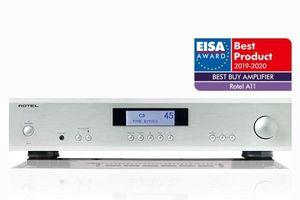 EISA Best Buy Amplifier 2019 - 2020 xướng tên Rotel A11