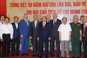Bảo đảm gìn giữ lâu dài và tuyệt đối an toàn thi hài Chủ tịch Hồ Chí Minh