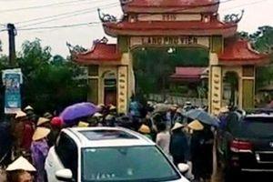 Triệu tập nhiều đối tượng có liên quan tới vụ đập phá cổng làng