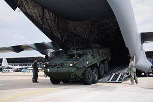 Thái Lan được Mỹ giao thiết giáp Stryker với tốc độ nhanh chóng mặt