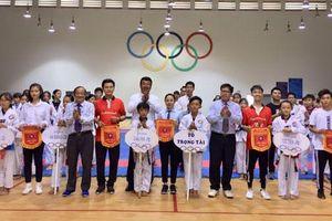 63 VĐV dự giải Taekwondo huyện Châu Đức mở rộng năm 2019