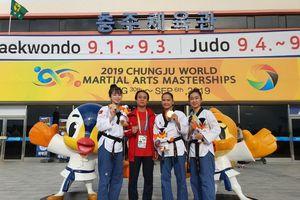 Taekwondo Việt Nam đoạt huy chương vàng trên đất Hàn Quốc