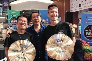 Hai nghệ sĩ trẻ Việt giành giải Nhất cuộc thi trống quốc tế
