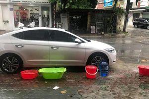 Vì sao mưa lụt nhưng toàn TP Vinh bị cắt nước máy?