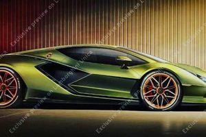 Rò rỉ thiết kế 'siêu bò' mới của Lamborghini