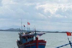 Chìm tàu trên đường tránh bão, 44 ngư dân gặp nạn