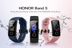 Honor mở bán honor band 5 ở Việt Nam, giá 799.000 đồng