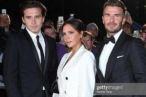 Gia đình danh thủ David Beckham nổi bật trên thảm đỏ