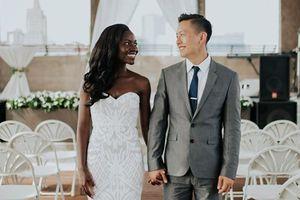 Tình yêu sóng gió và cái kết viên mãn của chàng trai châu Á yêu say đắm cô gái châu Phi