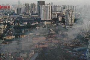 Thủy ngân trong không khí ở khu vực cháy nhà máy Rạng Đông vượt ngưỡng khuyến cáo từ 10-30 lần