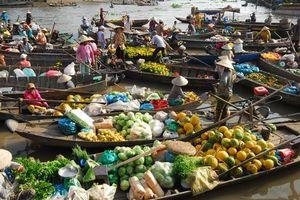 Cần Thơ được bình chọn là 1 trong 9 thành phố kênh đào đẹp nhất thế giới