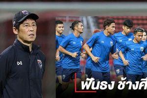HLV Nishino gánh dớp '3 lần toàn thua' trước trận Thái Lan - Việt Nam