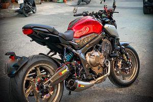 Honda CB650R với gói độ hàng hiệu của biker SG, đắt hơn cả xe mới