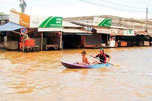 Lũ sông Mekong sắp về tới Campuchia và Việt Nam trong vài ngày tới