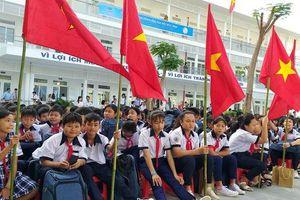 Trungnam Group bàn giao ngôi trường 45 tỉ đồng cho Ninh Thuận trong ngày khai giảng