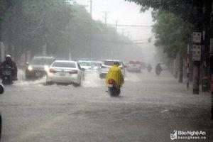 Thời tiết ngày và đêm 5/9: Nghệ An tiếp tục có mưa to đến rất to