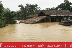Tối nay, mưa vẫn tiếp diễn ở Hà Tĩnh
