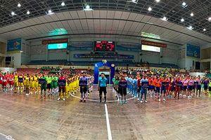 15 đội bóng tranh tài Giải bóng đá mini nam, nữ truyền thống Công đoàn Tổng Công ty Khánh Việt