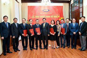 Nhân sự mới Bộ Ngoại giao, Bộ Nông nghiệp & Phát triển nông thôn