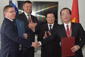 Việt Nam ủng hộ doanh nghiệp Nga mở rộng thăm dò và khai thác dầu khí tại thềm lục địa