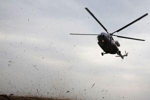 Nga: Vừa rơi cường kích Su-25, lại tiếp tục rơi trực thăng Mi-8