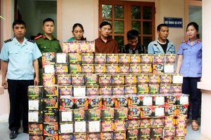 Bắt 6 đối tượng vận chuyển pháo bằng xe tải từ Quảng Bình ra Nghệ An tiêu thụ