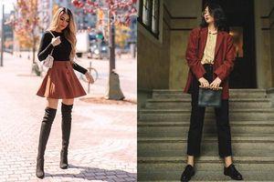 Học fashionista mix trang phục đón Thu đơn giản mà đẹp xuất sắc