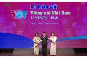 VOV trao Giải thưởng Tiếng nói Việt Nam năm 2019